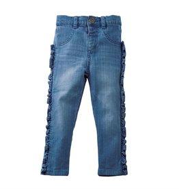 Mud Pie Baby Girl Ruffle Jeans