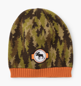 Hatley Forest Camo Winter Hat Green