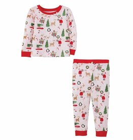 Mud Pie Girl Christmas Pajamas