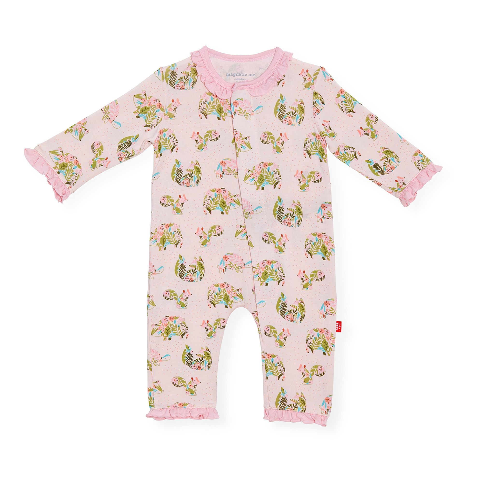 Magnificent Baby Baby Magnetic Modal Coveralls