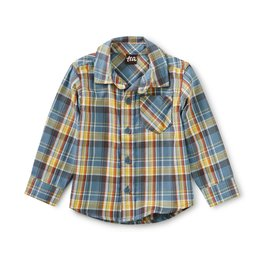 Tea Collection Plaid Baby Shirt Huascaran