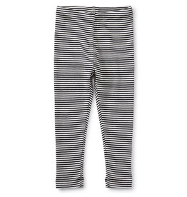 Tea Collection Striped Baby/Toddler Leggings Jet Black