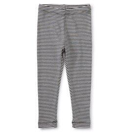 Tea Collection Striped Baby/Toddler Leggings Jet Black
