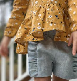 Vignette Paisley Shorts Mist
