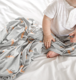 Copper Pearl Swift Knit Blanket Single
