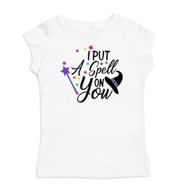 Sweet Wink Spell on You SS Shirt White