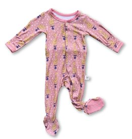 Kozi & Co Cotton Candy Giraffe Footie
