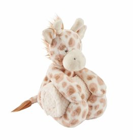Mud Pie Giraffe Plush With Blanket