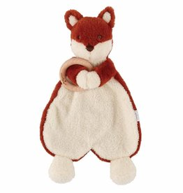 Mud Pie Fox Woobie with Teether