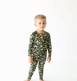 Posh Peanut Cadet LS Henley Loungewear