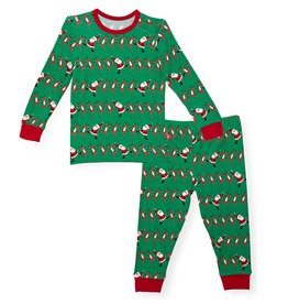 Magnificent Baby Holly Folly Jolly Modal Magnetic Toddler Pajama Set
