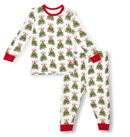 Magnificent Baby Kiss Me Modal Magnetic Toddler Pajama Set