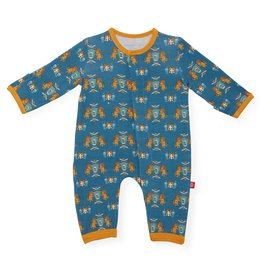 Magnificent Baby Knighty Knight Modal Magnetic Coverall