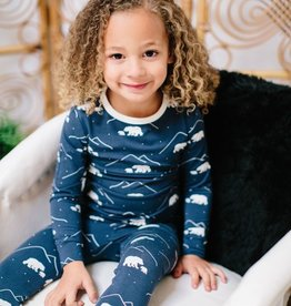Sweet Bamboo Big Kid PJ Set Polar Bears