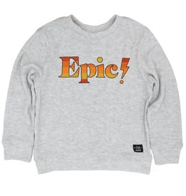 Feather 4 Arrow Epic Hacci Pullover Gray