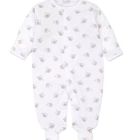 Kissy Kissy Swinging Sloths Print Footie