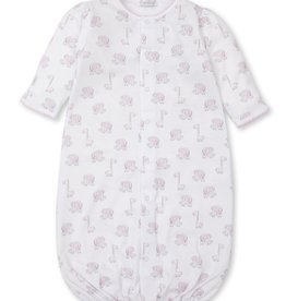 Kissy Kissy Sappy Sidekicks Print Converter Gown