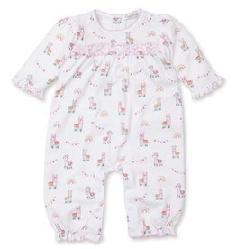 Kissy Kissy Fun-Loving Llamas Print Playsuit