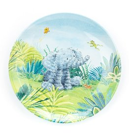 Jellycat Elephants Can't Fly Melamine Plate