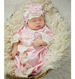 Haute Baby Chic Petit Gown Pink