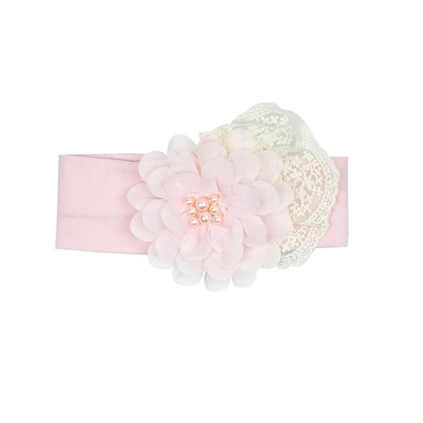 Haute Baby Chic Petit Headband Pink Infant