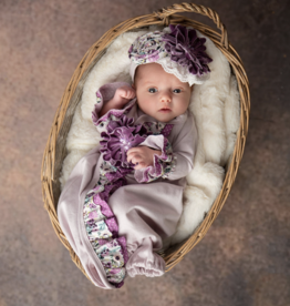 Haute Baby Plum Perfect Gown