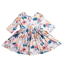 Mila & Rose Blush Peony Twirl Dress