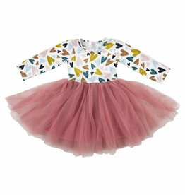 Mila & Rose I Heart You Tutu Dress