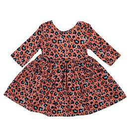 Mila & Rose Spot On 3/4 Sleeve Pocket Twirl Dress