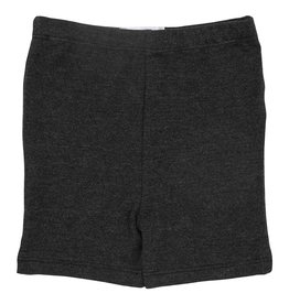 Mila & Rose Charcoal Heather Twirl Shorts