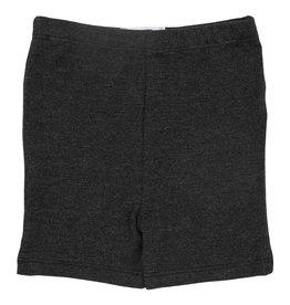 Mila & Rose Charcoal Heather Twirl Shorts