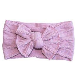Mila & Rose Thistle Cable Knit Nylon Headwrap
