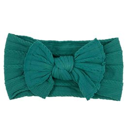Mila & Rose Spruce Cable Knit Nylon Headwrap