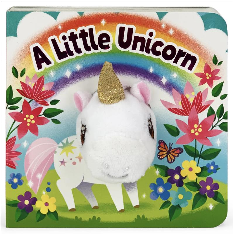 Cottage Door Press A Little Unicorn Puppet Book