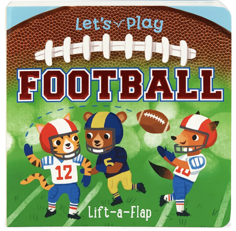 Cottage Door Press Let's Play Football Book