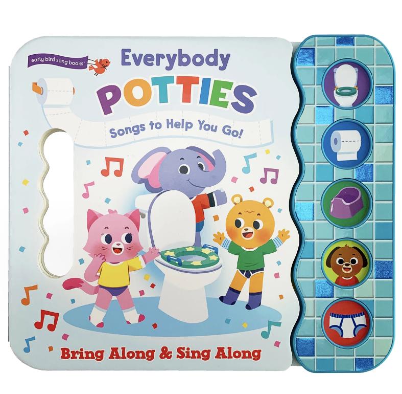 Cottage Door Press Everybody Potties: Songs to Help You Go