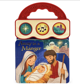 Cottage Door Press Away in a Manger (Sound Book)