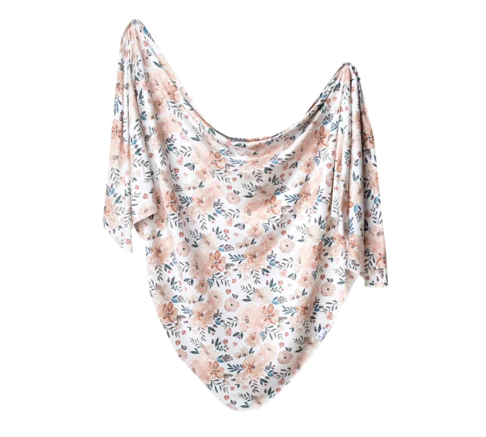 Copper Pearl Autumn Knit Blanket Single