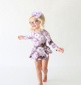Posh Peanut Nikki LS Basic Twirl Skirt Bodysuit