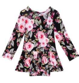 Posh Peanut Milana Basic Twirl Skirt Bodysuit