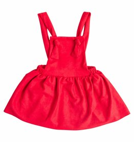 Mila & Rose Red Pinafore