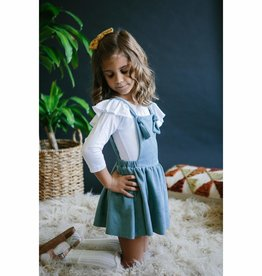 Mila & Rose Pale Blue Pinafore