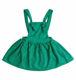 Mila & Rose Hunter Green Pinafore