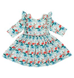 Mila & Rose Rose Garden Ruffle Twirl Dress