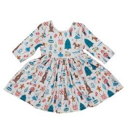 Mila & Rose Nutcracker Pocket Twirl Dress