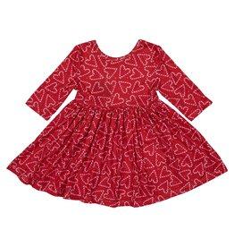 Mila & Rose Candy Cane Cutie Twirl Dress