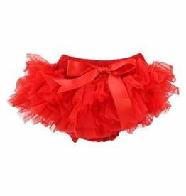 Mila & Rose Red Ruffle Tutu Bloomer