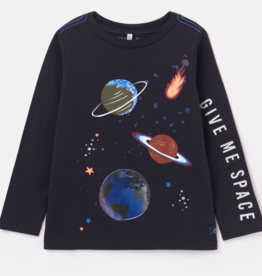 Joules Wardell Space Shirt Navy