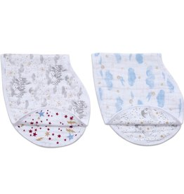 Aden & Anais Harry Potter Iconic 2-Pack Classic Burpy Bibs