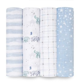 Aden & Anais Rising Star 4-Pack Classic Swaddles